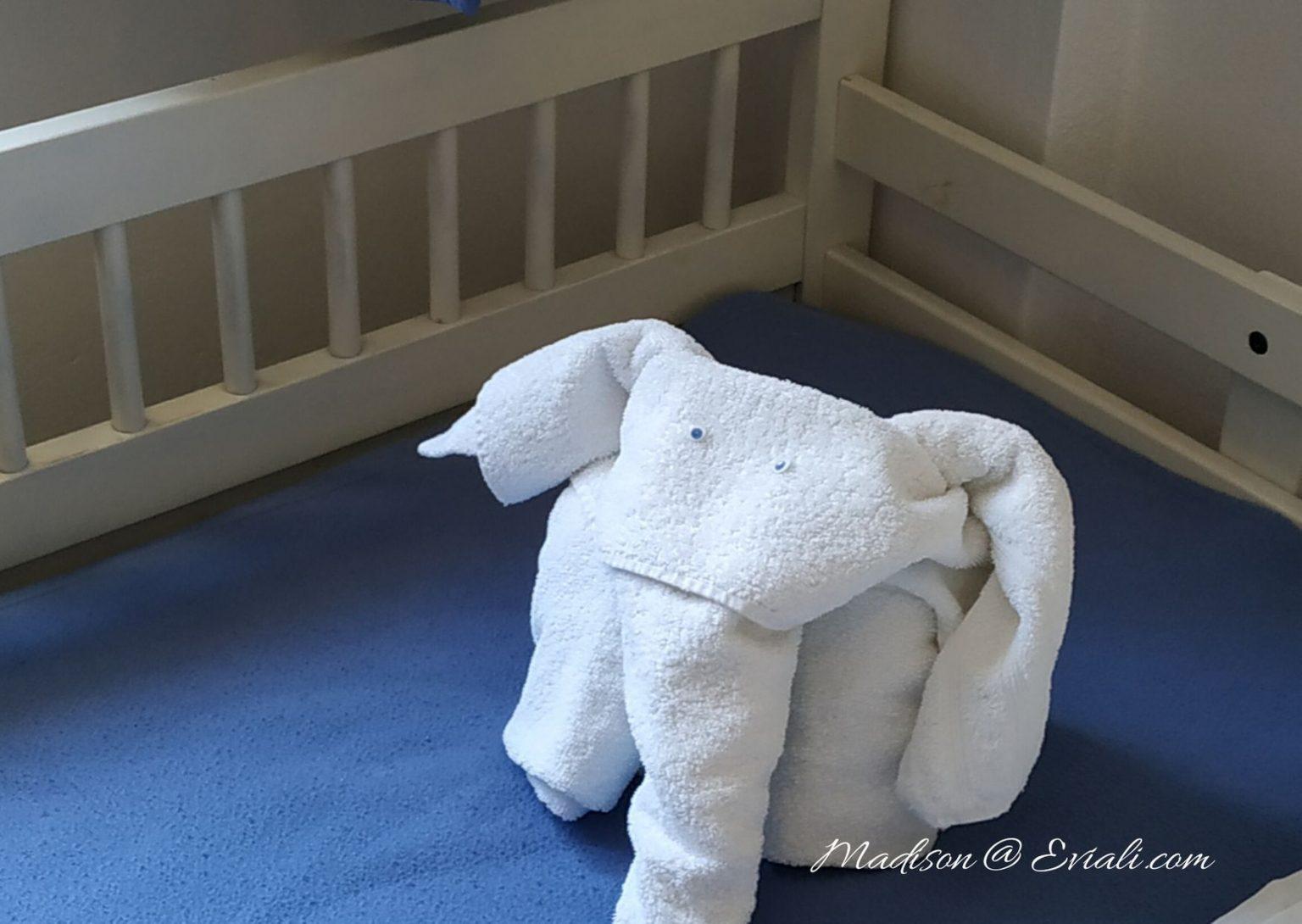 Towel animal elephant